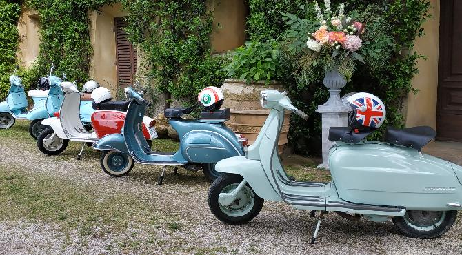 vintage scooter rent