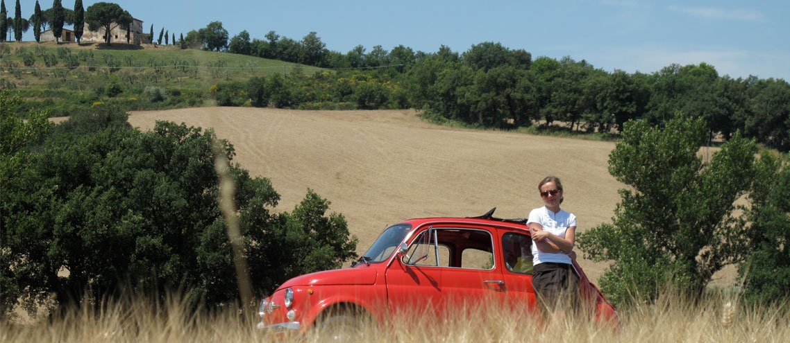 let you drive around Tuscany, Montepulciano, Pienza, Cortona, Siena , Pisa, Valdorcia and more
