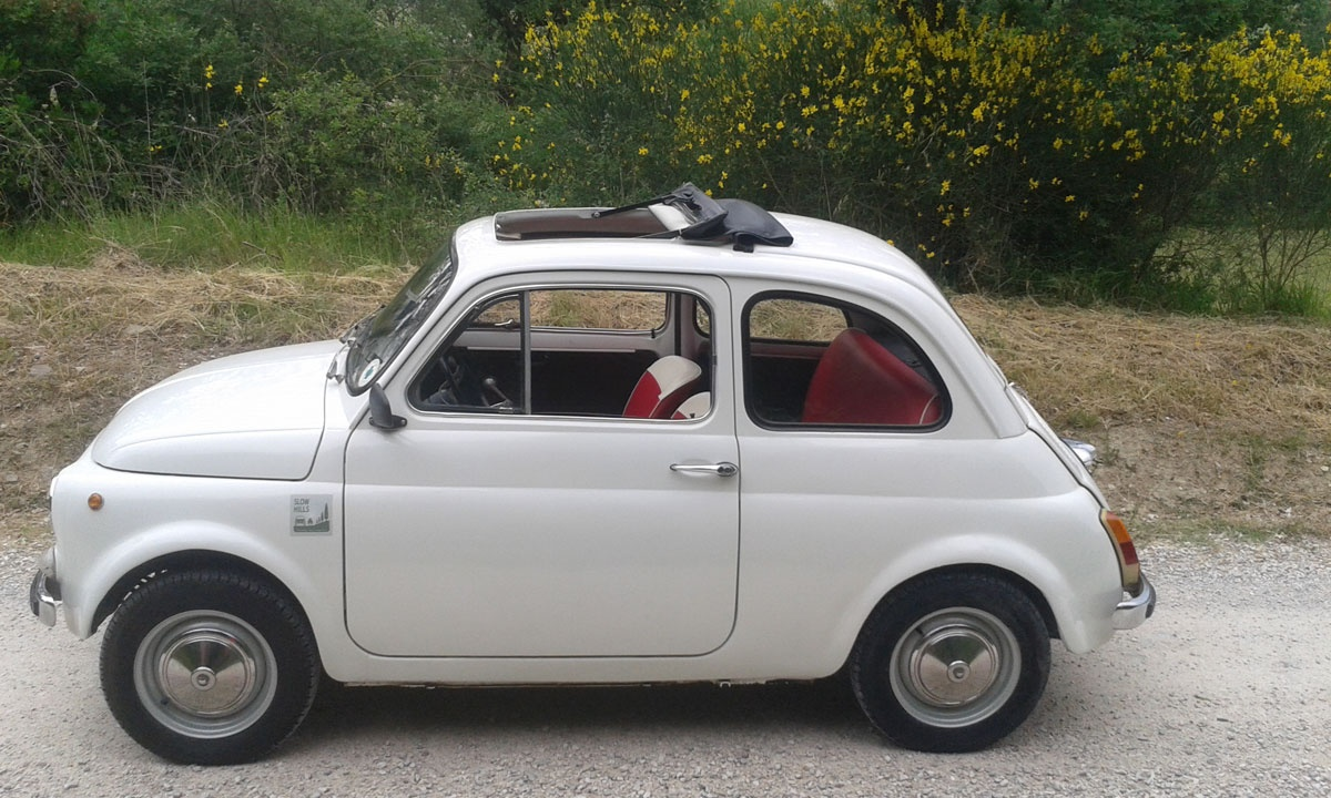 fiat 500 d latest fiat d model fully restored by ricambi. Black Bedroom Furniture Sets. Home Design Ideas